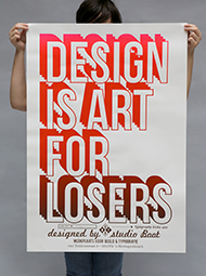 Design is art for losers